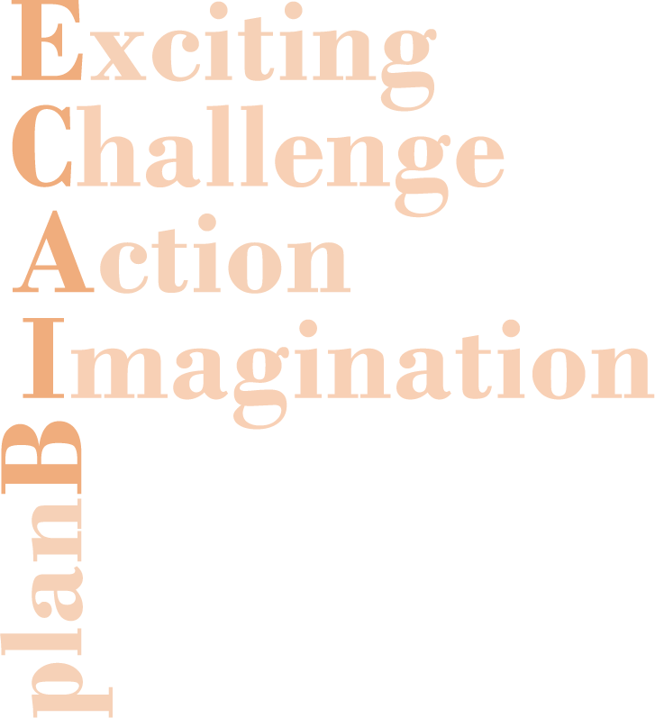 Exciting  Challenge  Action  Imagination  planB